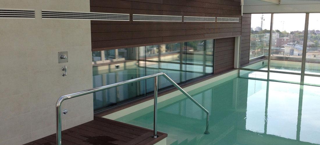 Swimming Pool Decking Cladding