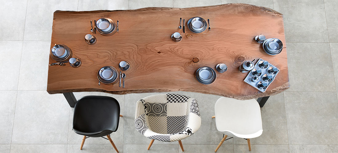 Wood Slabs Table