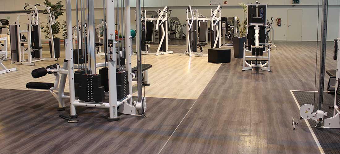 Vinyl Flooring Gym