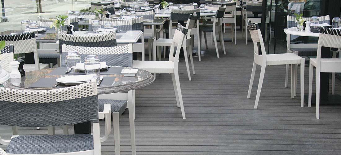 Restaurants & Hotels Decking