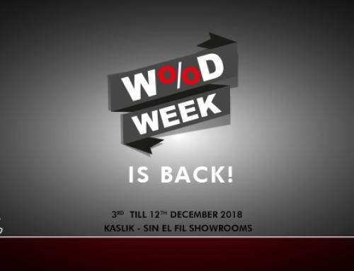 WOOD WEEK IS BACK!