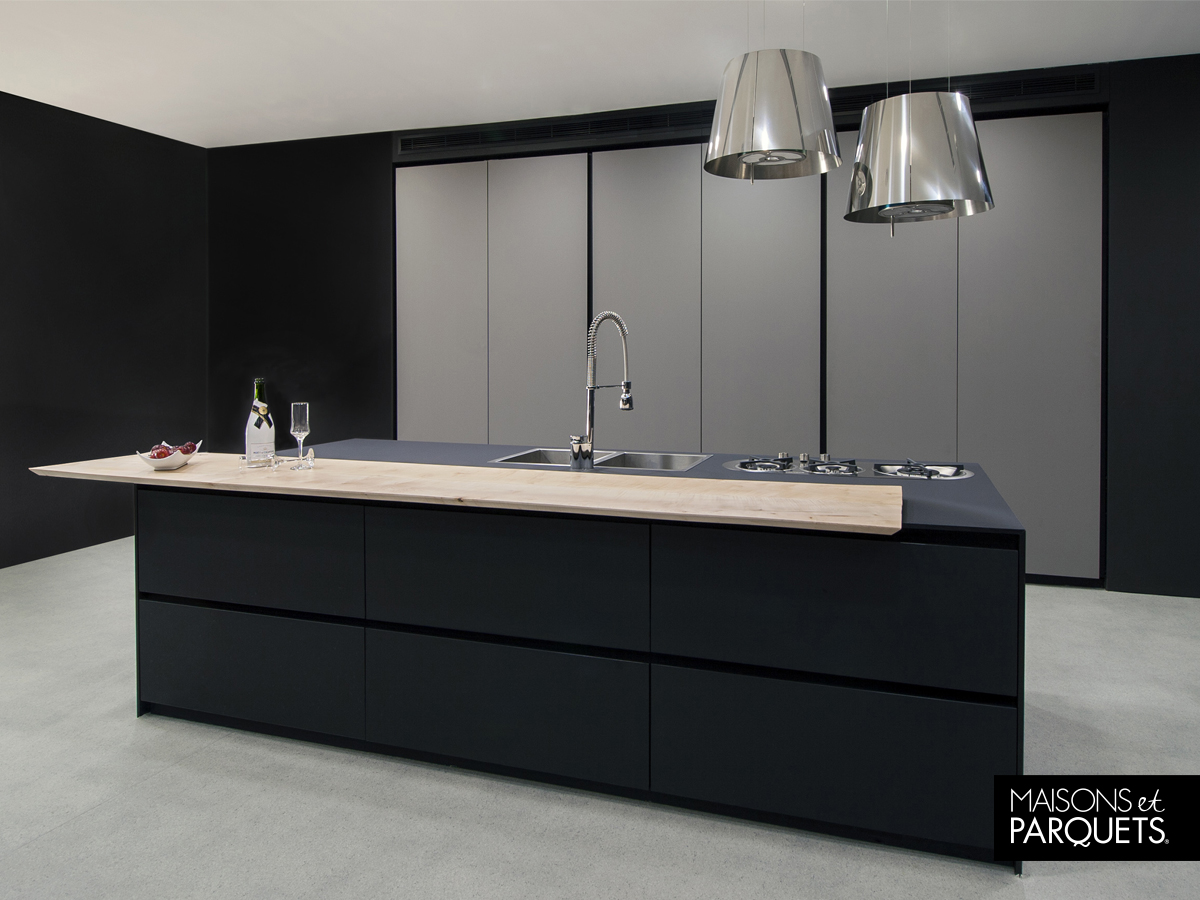 Kitchen Design Black Matt